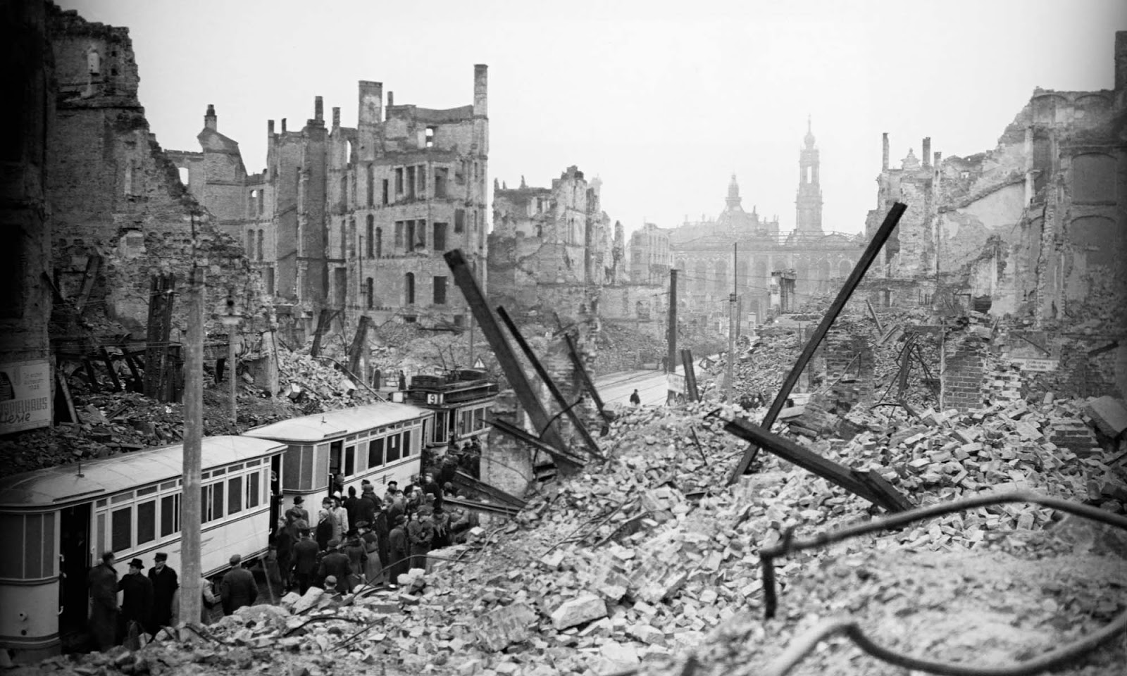 The destruction of the city provoked unease in intellectual circles in Britain. According to Max Hastings, by February 1945, attacks upon German cities had become largely irrelevant to the outcome of the war and the name of Dresden resonated with cultured people all over Europe.